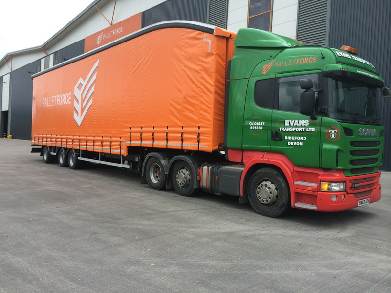 New 50Ft PalletForce Trailer