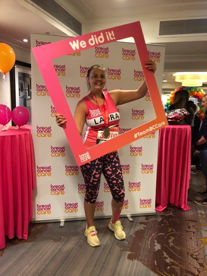 Evans Transport Laura London Marathon 2019
