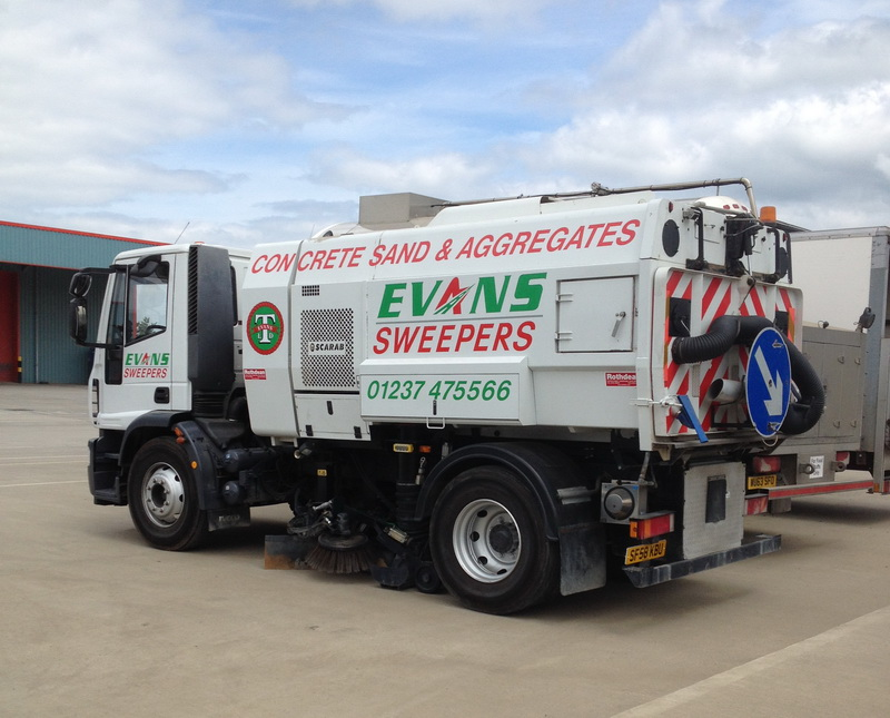 The Iveco Scarab Mistral sweeper