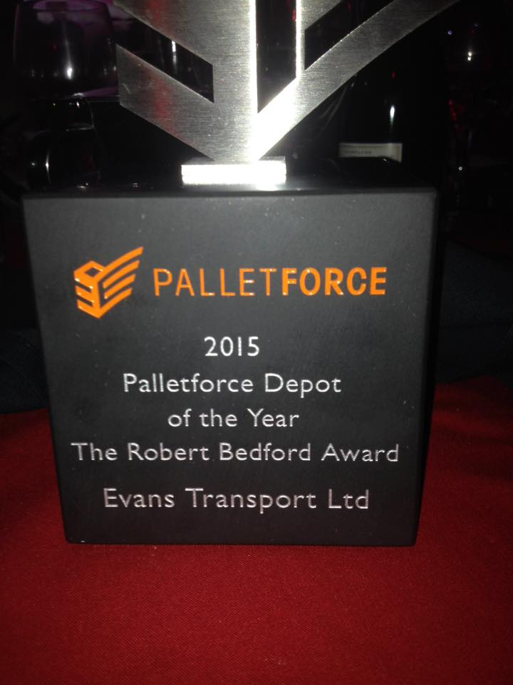 Depot of the year 2015 - Evans Transport Ltd